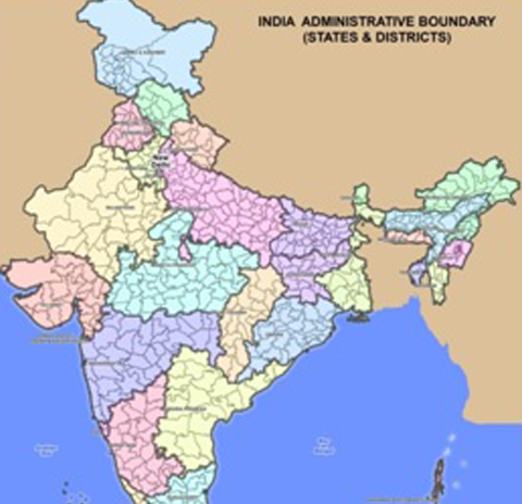 Census area maps GEOCONCEPT India