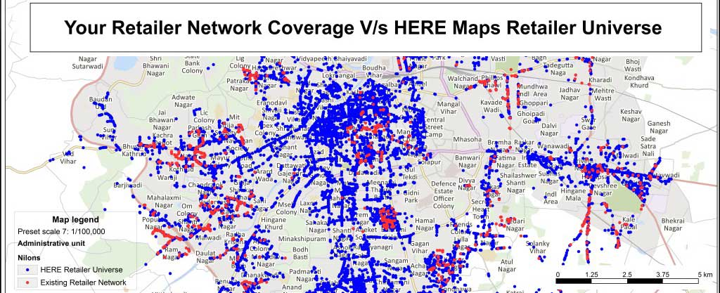 Here POI and street maps   GEOCONCEPT India